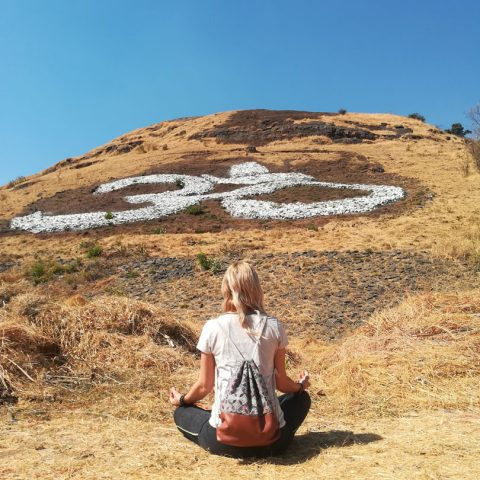 Andrea Schenk in Indien - Yoga
