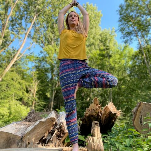 Yoga in der Natur von Bonn und Umgebung mit Andrea Schenk